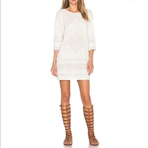 """*NWT* Free People """"Desert Song"""" Dress in Ivory"""